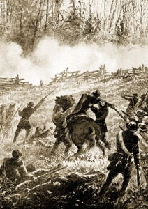 Shiloh Battlefield Depiction